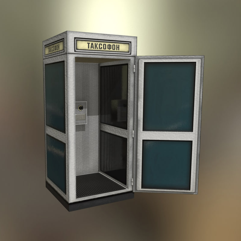 soviet pay phone 3d 3ds