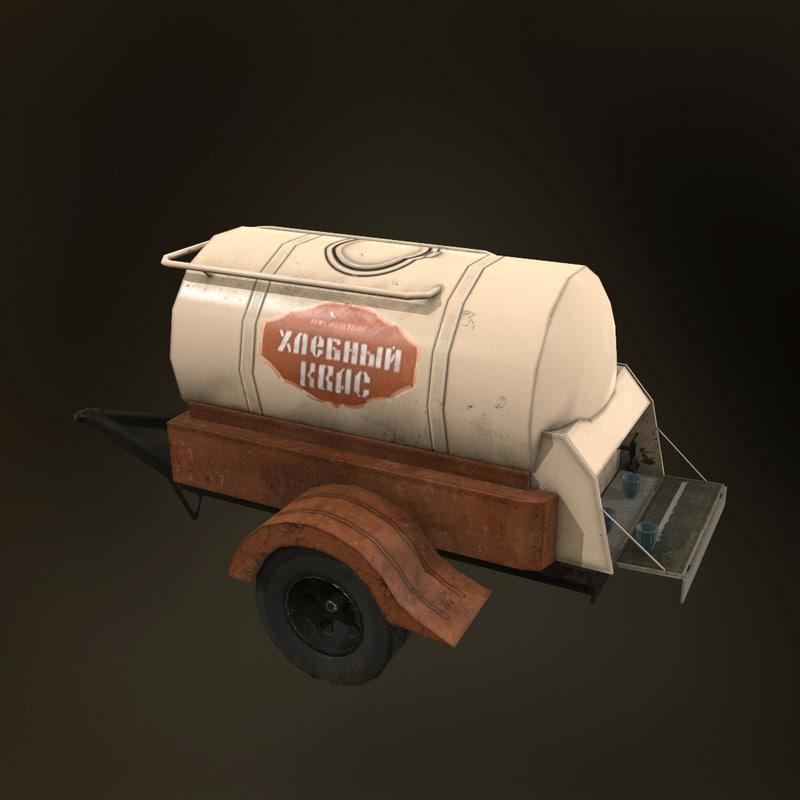 3d soviet barrel