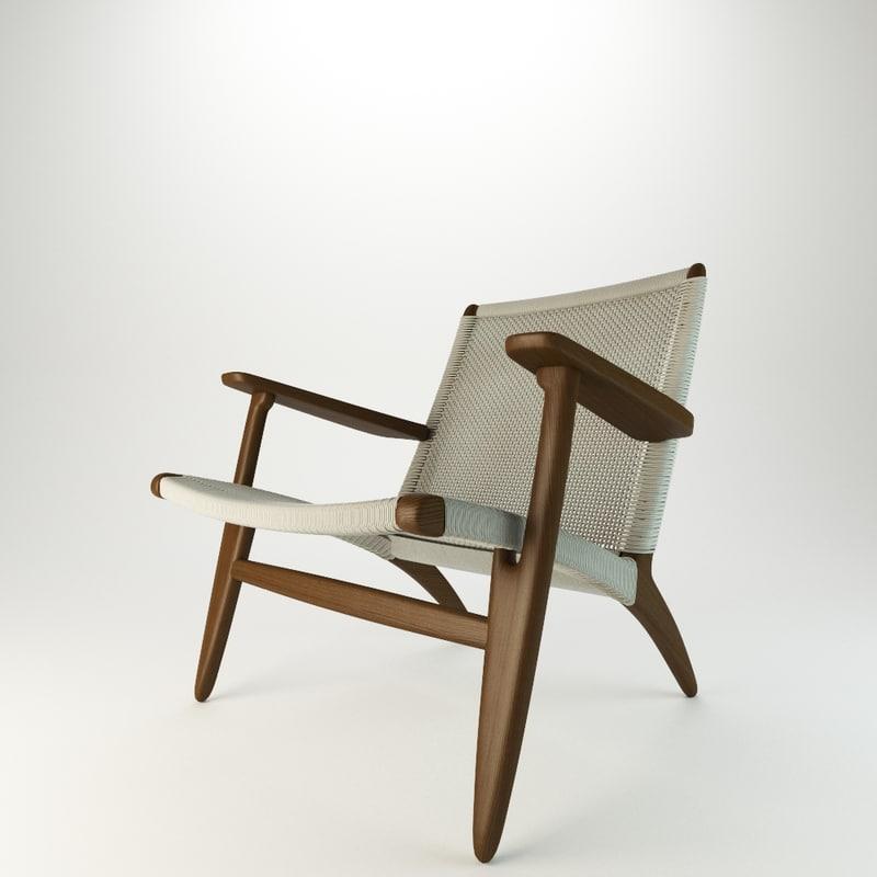 chair ch25 seat 3d max