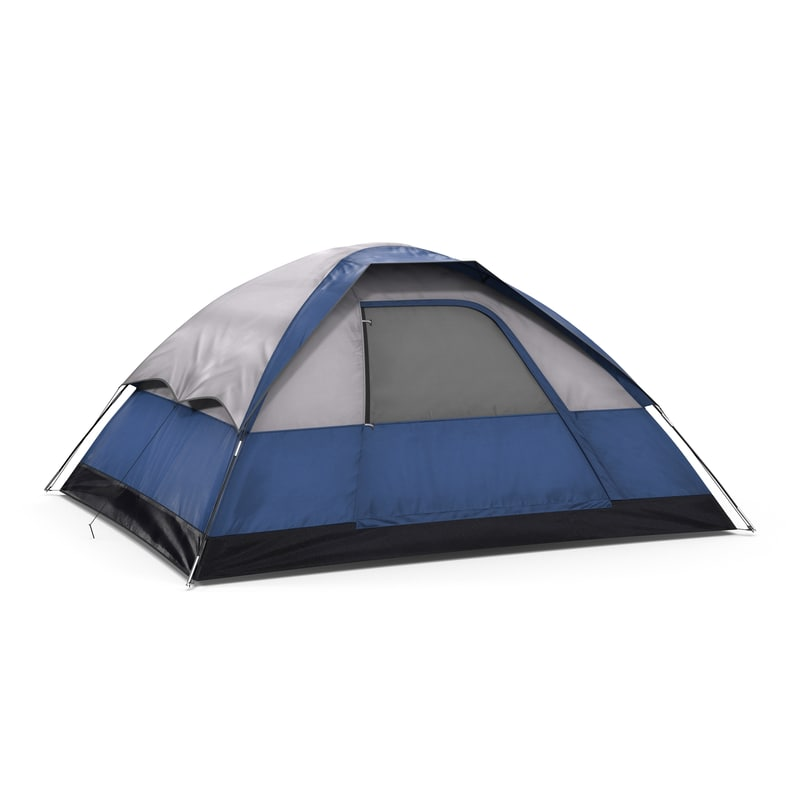 3ds camping tent blue
