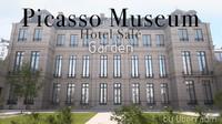 Picasso Museum- garden
