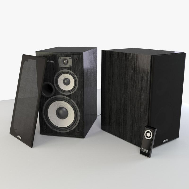 3d model speaker r2700 edifier