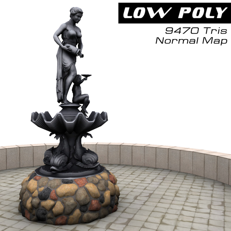 3d sculpture ready games model