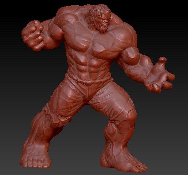 3d avengers hulk