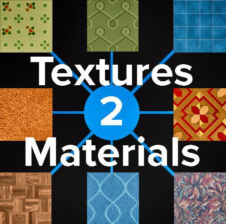 Textures2materials