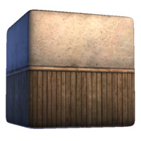 Wood Based Plaster Wall 2