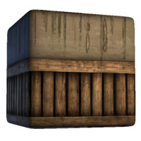 Wood Based Plaster Wall