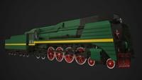 P36 Steam loco PBR Game Ready