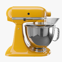 artisan kitchen mixer 3d model