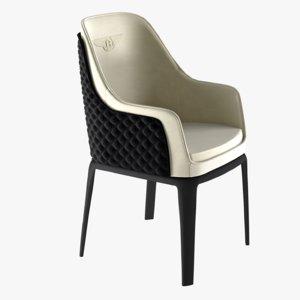 bentley kendal chair 3d model