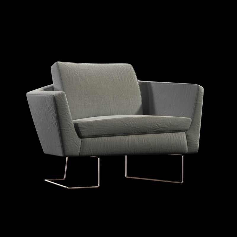 chair sculpt 3d 3ds