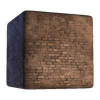 Brick Wall with Dark Grout