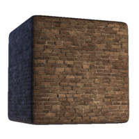 Brick Wall with Light Grout