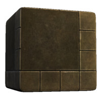 Large and Small Square Tile