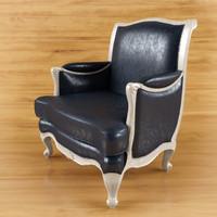 classic armchair angelo cappellini obj