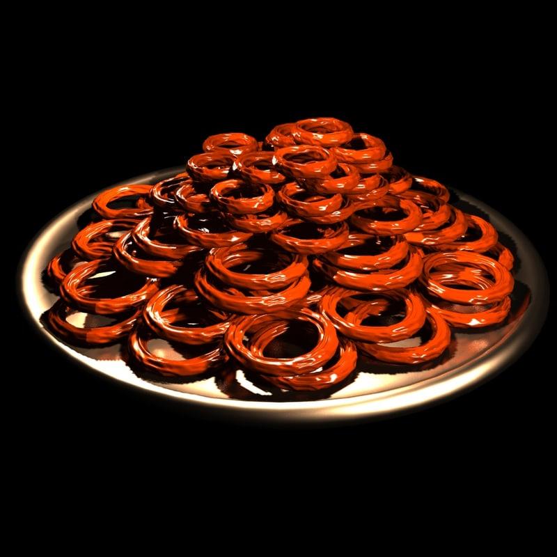 arabian sweets 3d model
