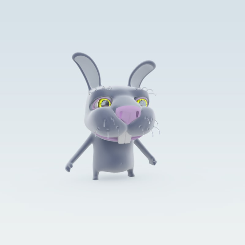 max hare biped animation