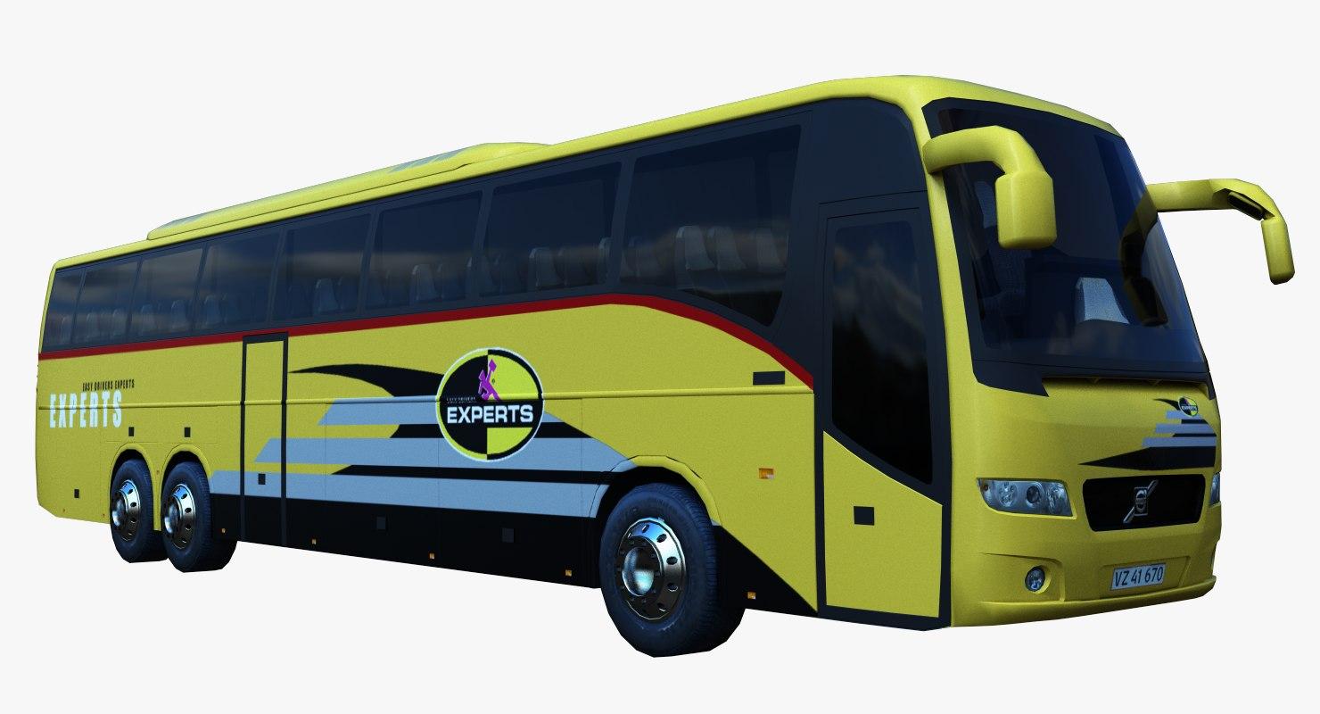 3d model 9700 bus