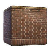 Brownish Brick Wall