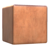 Brushed Copper Metal