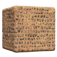 Red Desert with Sparse Cobblestone