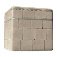 Roman Brick Wall