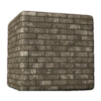 Roman Marble Brick Dirty