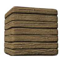 Rough and Dirty Wood Siding