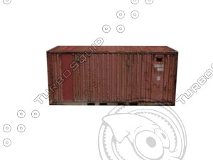 free fbx mode shipping container
