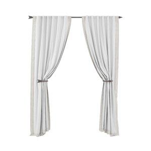 curtains rh studded 3d max