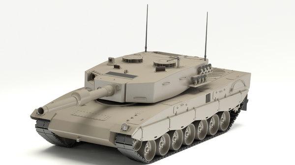 3d leopard model