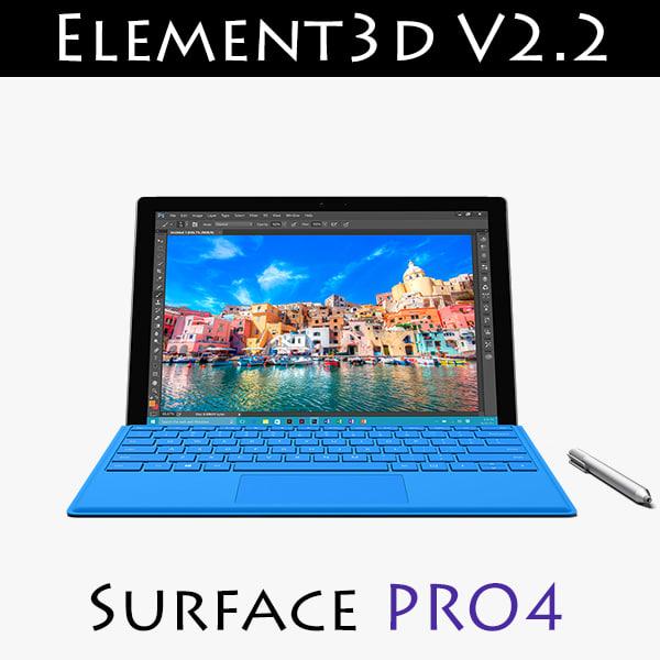 3d model of v2 2 element3d 4