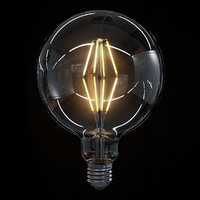 led filament bulb lights max