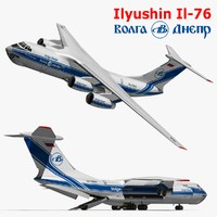 ilyushin il-76 3d model