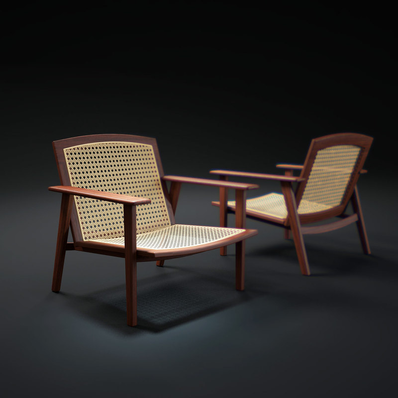 3d rio-poltrone-chair