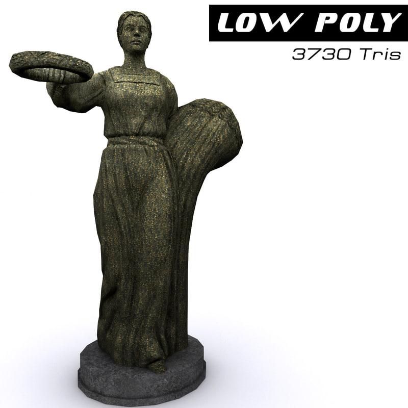 3d model sculpture ready games