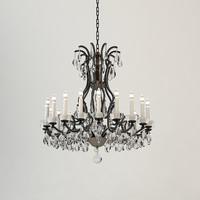 ralph lauren phoenix chandelier 3d max