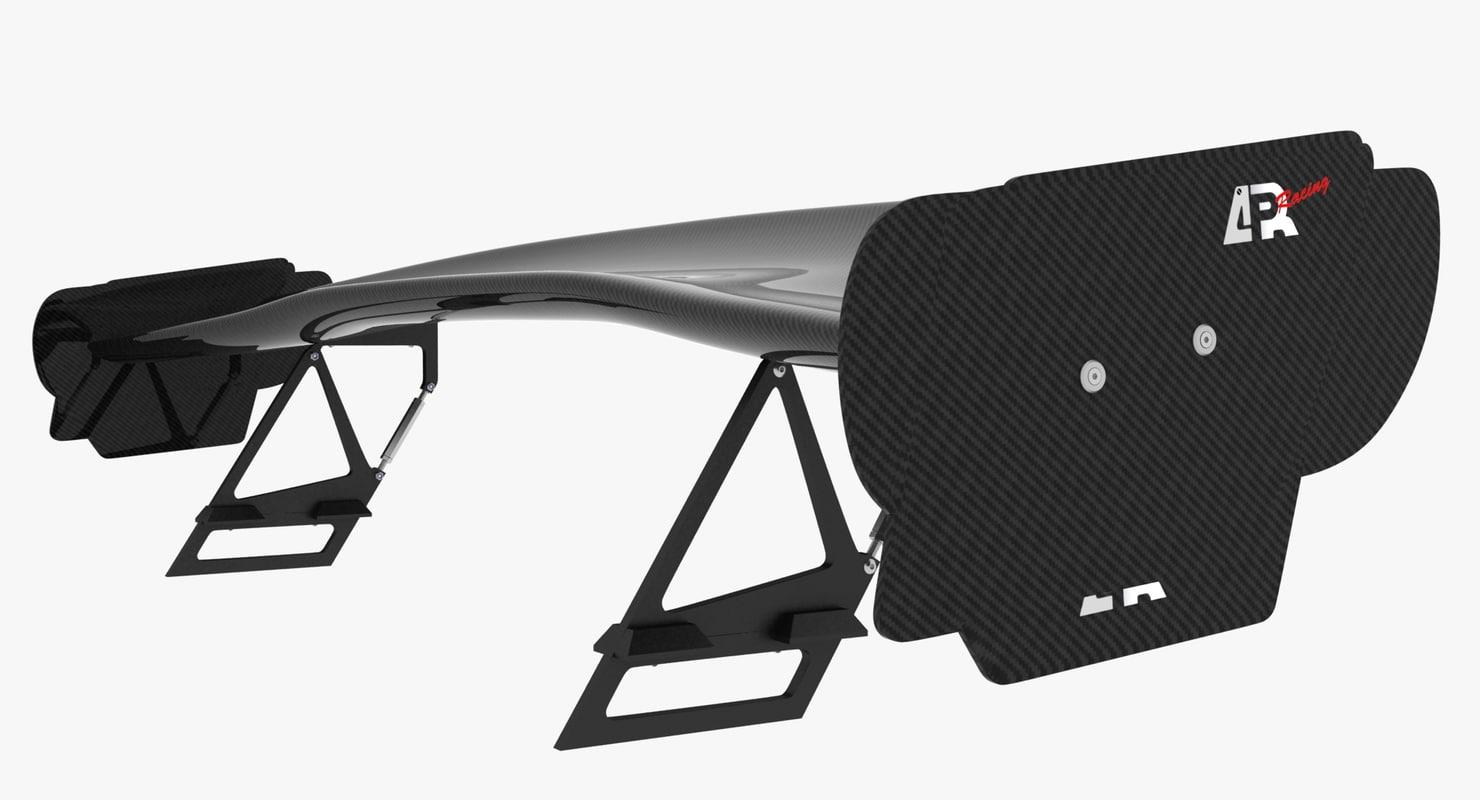 3d model cars gtc wing