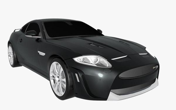 3d model xkr-s 2012