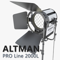 altman 2000l lights max