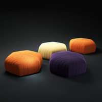 muuto-five-pouf 3d model