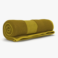 rolled towel yellow max