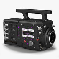3d model camera phantom flex4k