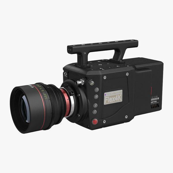 3d speed digital camera phantom