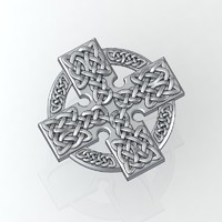 3d model of decorative celtic