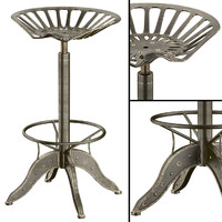 tractor seat barstool max