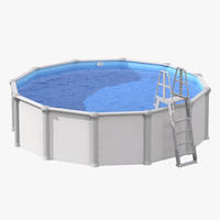 ground swimming pool 3d 3ds