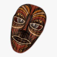3d mask antique ornaments