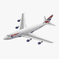 boeing 747 100b british airways max