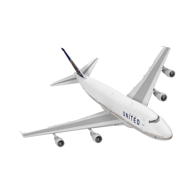 boeing 747 100b united max